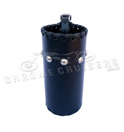 Motorcycle leather drink holder - large (N4B)
