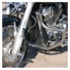 Honda VTX1800 Custom - Stainlees Steel Crash Bar / Engine bar
