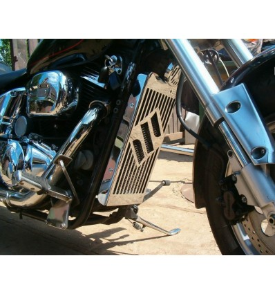 Suzuki VZ800 Marauder Chrome radiator cover