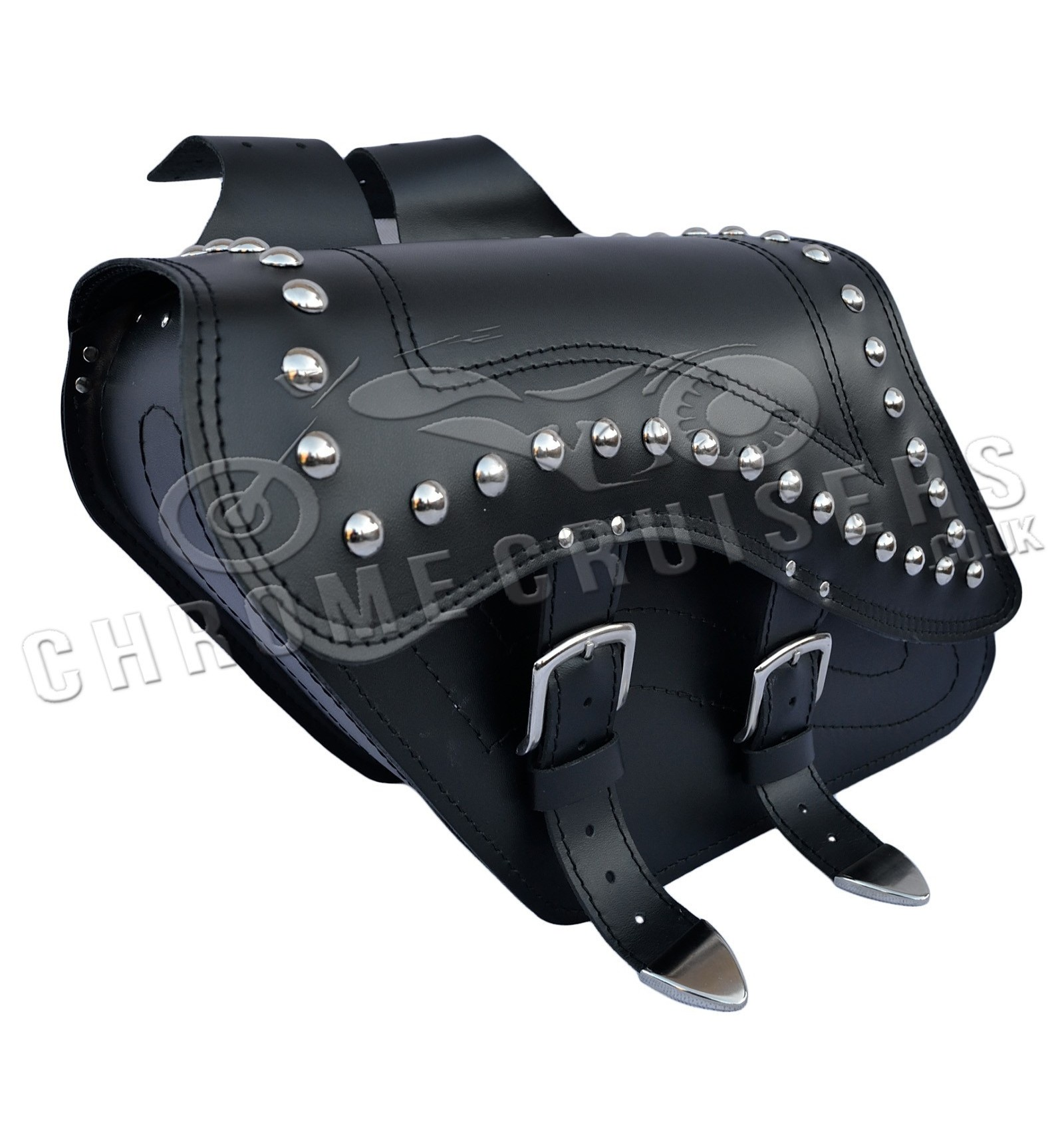 Motorcycle leather saddlebags yamaha all models for Yamaha virago 1100 saddlebags
