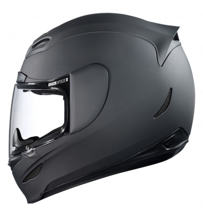 ICON Airmada Rubatone Motorcycle Full Face Helmet - Matte Black