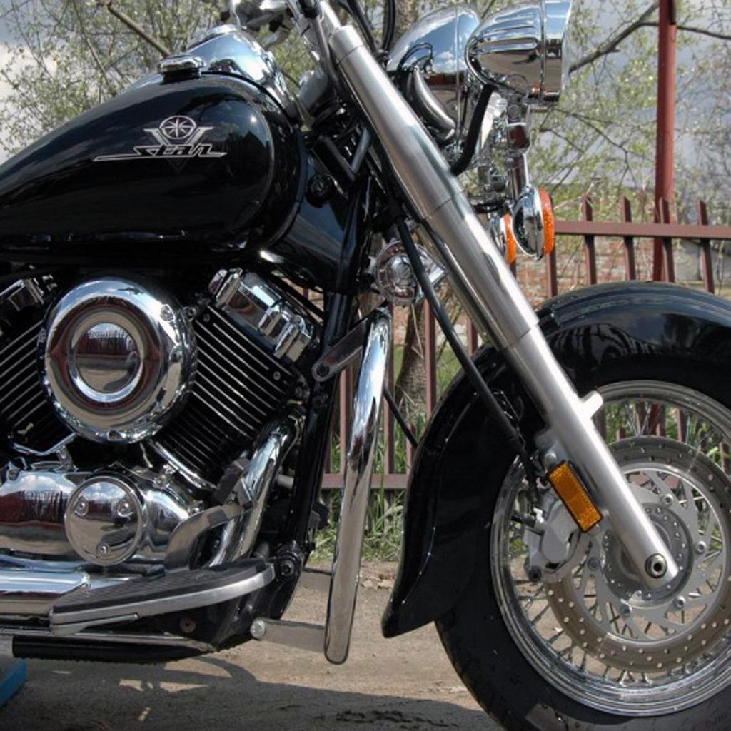 Yamaha XVS 650 Dragstar V Star Classic Custom Engine Guard Highway