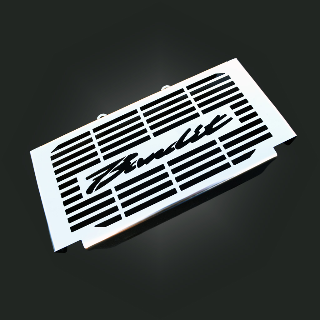suzuki bandit gsf600 600s acier inoxydable cache radiateur grille. Black Bedroom Furniture Sets. Home Design Ideas