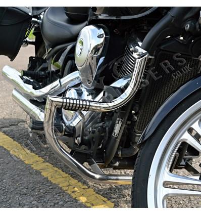 Kawasaki VN 900 VULCAN Classic & Custom Engine Guard Crash Bar Highway Pegs