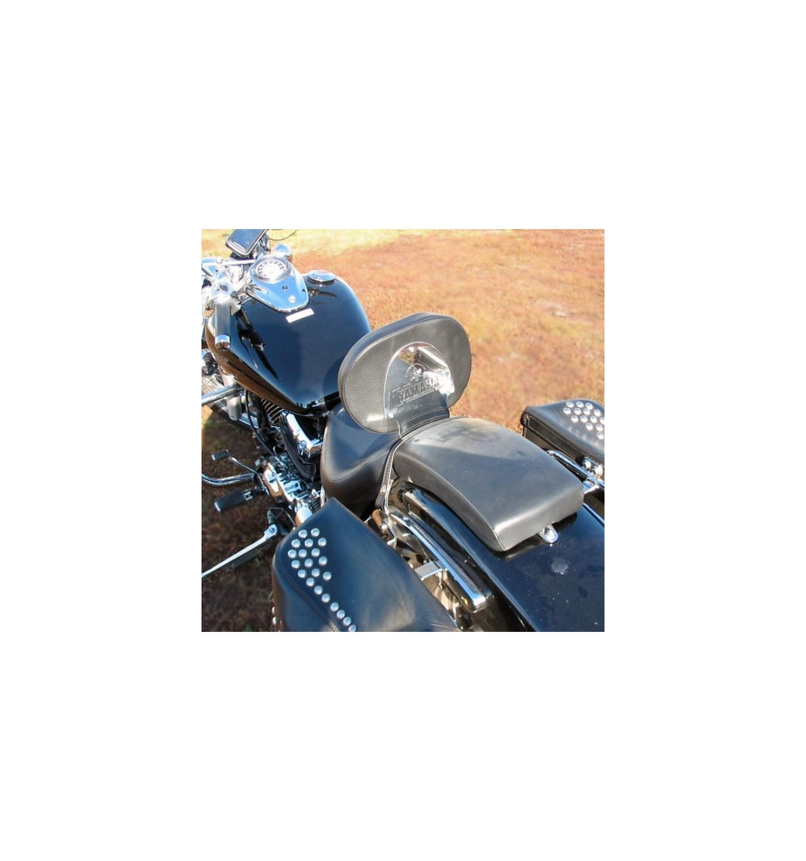 Yamaha Xvs650 Dragstar Rider Backrest Chrome Cruisers