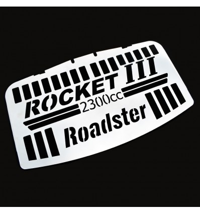 (R) Triumph Rocket III  - Radiator Chrome Cover