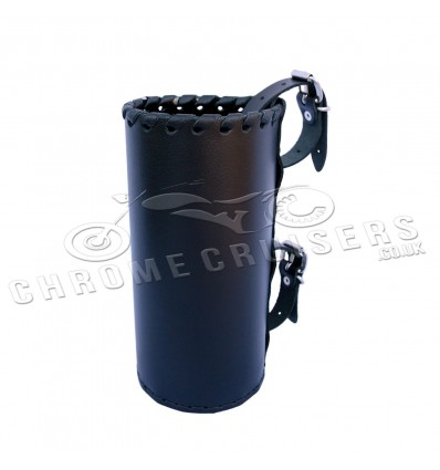 Motorcycle leather drink holder - large (N4A)