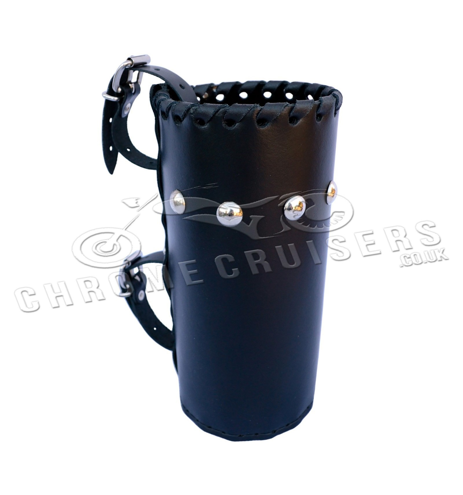 Motorcycle Leather Drink Holder Large N4b Chrome
