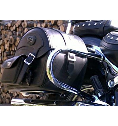 Suzuki VL800/C50/C800 Rear Crash Bars / Saddlebag Guards