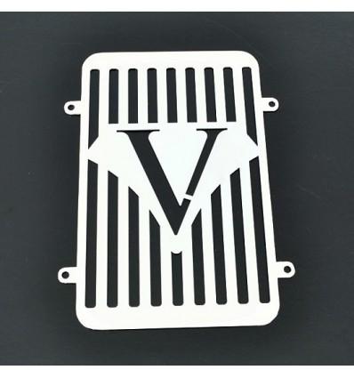 Kawsaki VN900 VULCAN CLASSIC Chrome Radiator Cover Grill Protector (V)