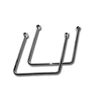 Suzuki M1800R Intruder Chrome Saddlebag Brackets.