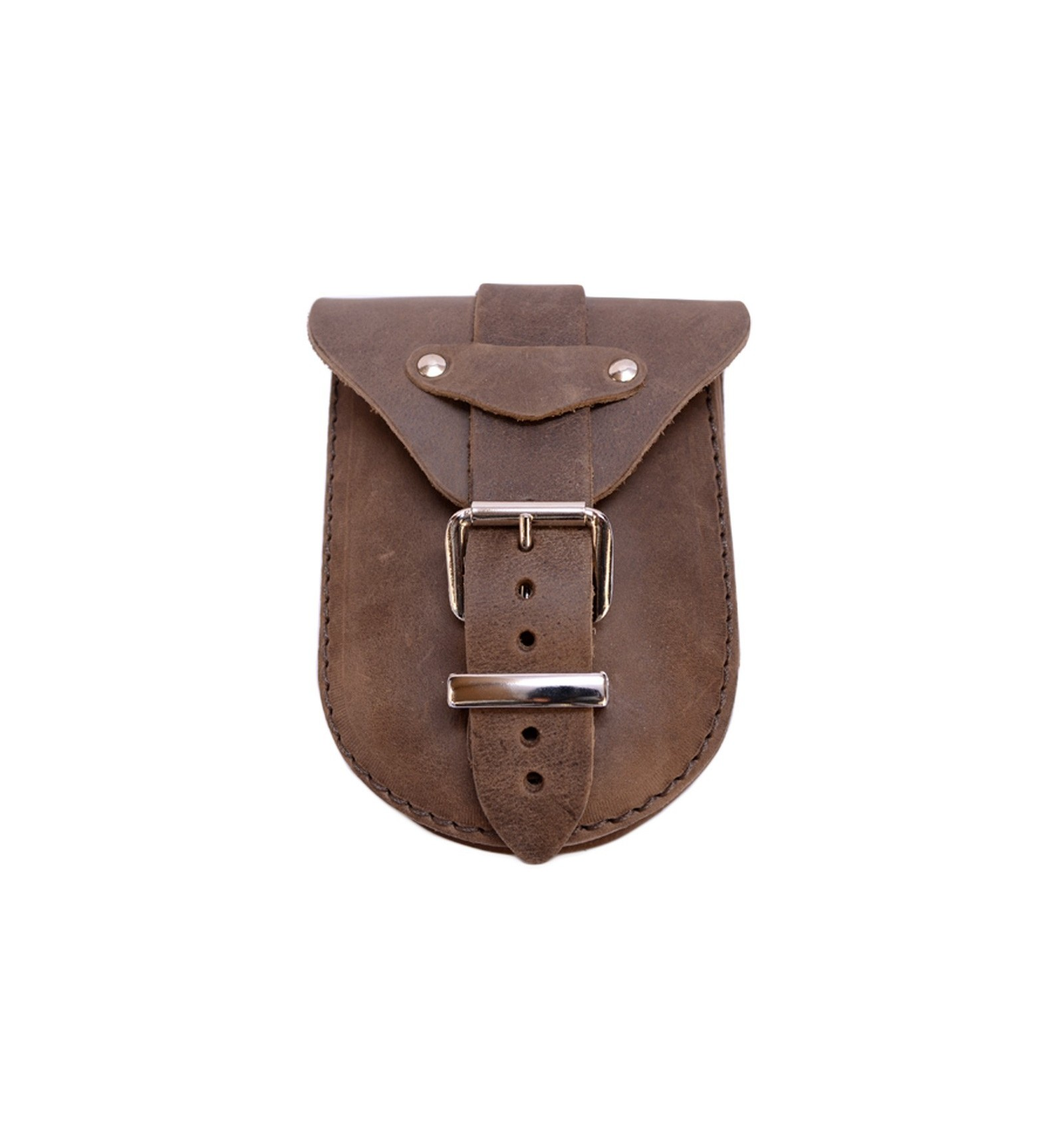 brown leather tank bag