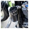 Leather drink holder with rivets (N2BB)