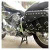 Yamaha XV750/1100 Virago Chrome Rear Crash Bars Saddlebag Guards