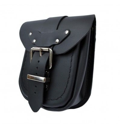 Motorcycle leather pouch