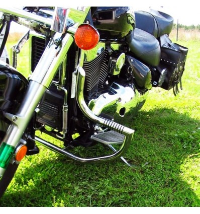 Suzuki VL1500 LC Intruder C90 Boulevard Engine Guard Crash Bar Highway Pegs