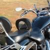 Yamaha XVS130 Midnight Star V-Star Rider Backrest