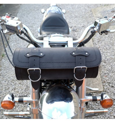 Motorcycle leather large tool roll