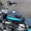 Yamaha XV535 Leather Tank Panel with rivets