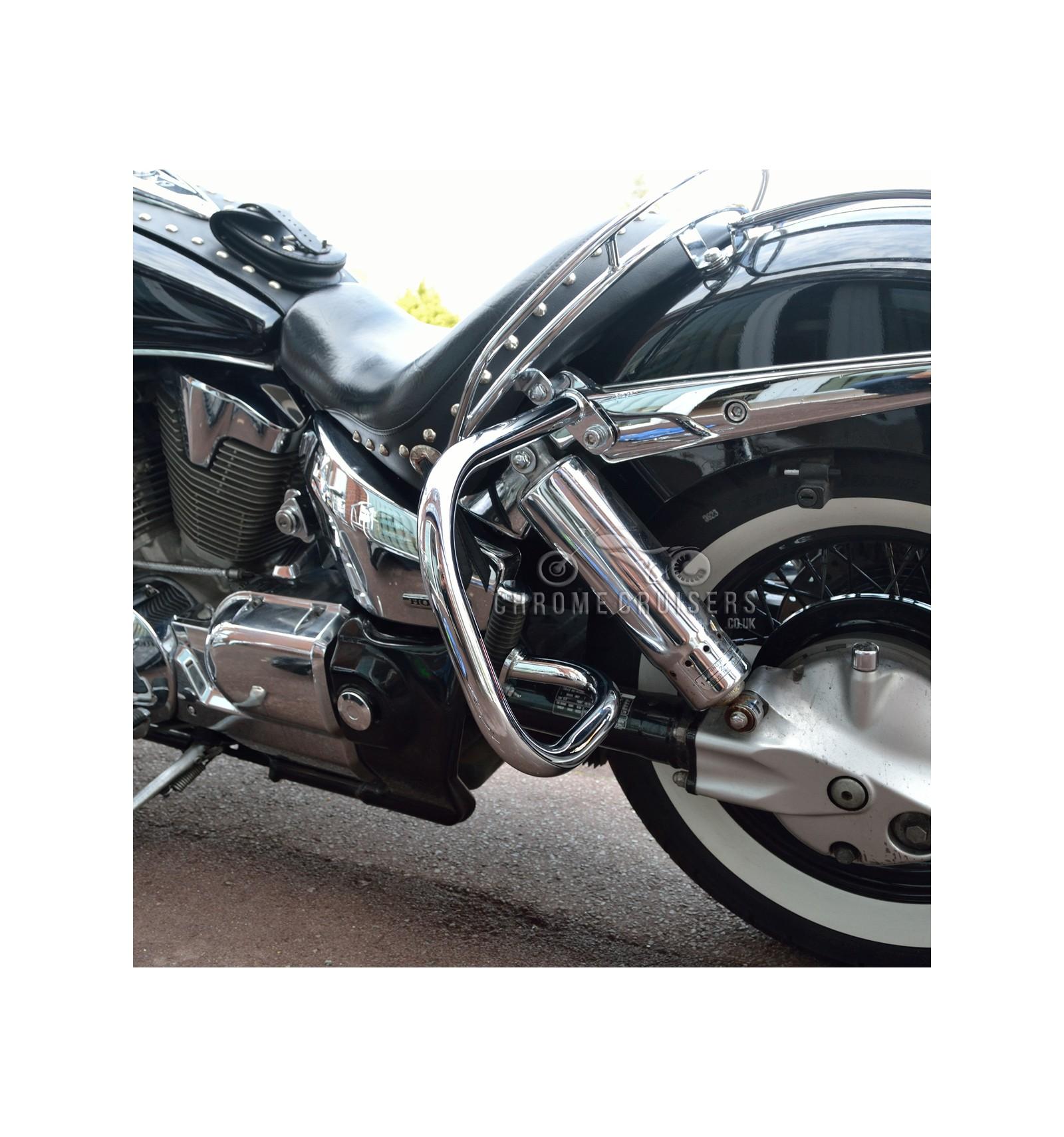 Honda VTX1300 Retro / S / Neo Rear Guards / Saddlebag Guards