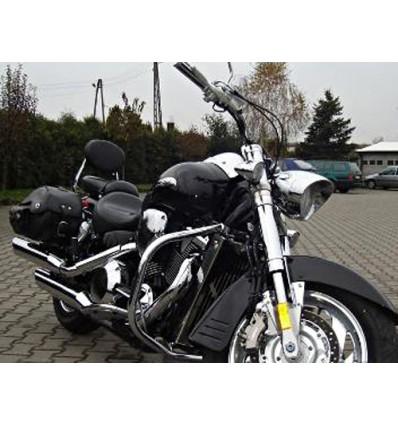Honda VTX1800 Custom - Chrome Heavy Duty Crash Bar / Engine bar