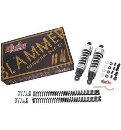 Burly Slammer (Lowering) Kit for Dyna ('06-'15) - Chrome