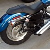 Harley Davidson Sportster XL ('04-'17) Burly Slammer Shocks - CHROME