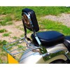 Yamaha XVS650 Drag Star V-Star Classic Sissy bar / Passenger backrest with luggage rack
