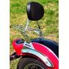 Yamaha XVS650 Drag Star V-Star Classic Sissy bar / Passenger backrest with luggage rack