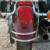 Yamaha XV1600 WildStar Rear Fender Chrome Trim