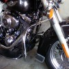 Harley Davidson Softail / Fat Boy / Heritage Chrome Engine Guard (2000-17)