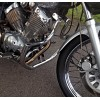 Yamaha Virago XV535 XV 535 Engine Crash Bar Guard with built in Highway Pegs