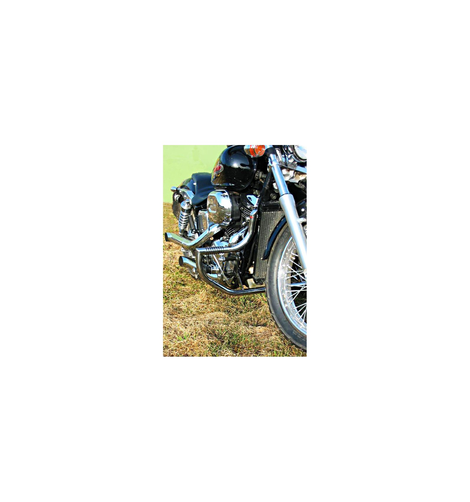 Honda Vt750 Shadow Spirit Black Widow From 2007 On Rc