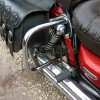 Yamaha XV535 Virago Rear Guards / Saddlebag Guards