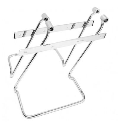 Honda Valkyrie F6C Chrome Saddlebag pannier support brackets bars kit