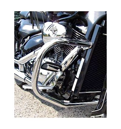 Suzuki VL800 Volusia / C800 / M800 Intruder Chrome / Black Engine Guard