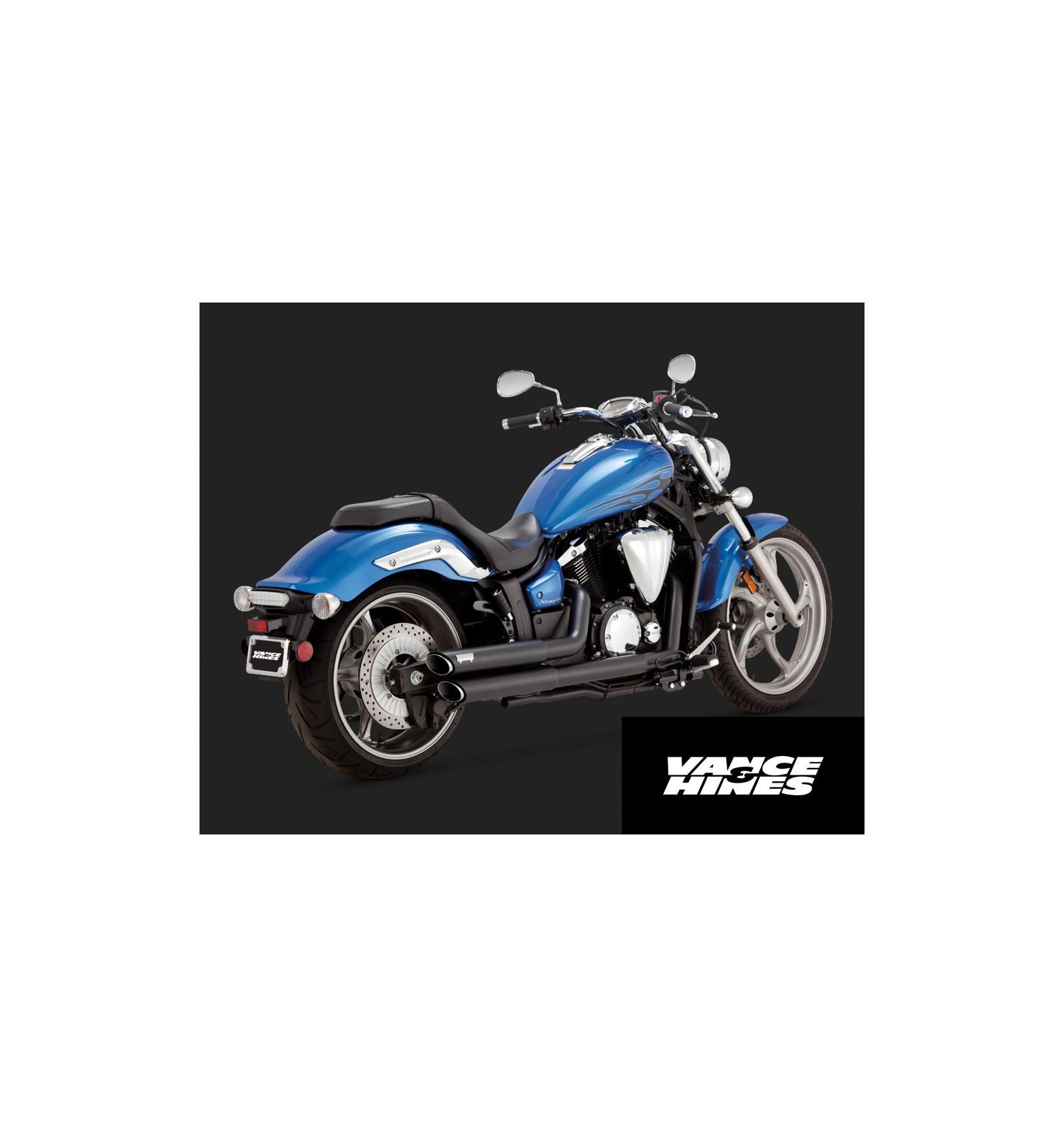 Yamaha xvs1300c custom stryker stryker bullet cowl vance for Yamaha exhaust systems
