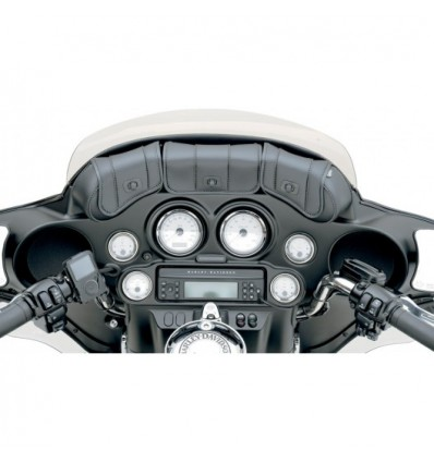 Cruis'n Deluxe 3-Pocket Windshield Bag for Harley Davidson (96-13)