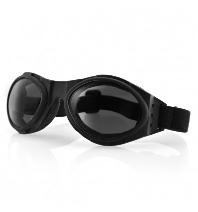 Bobster BUGEYE Motorcycle Goggle with Smoke Lenses