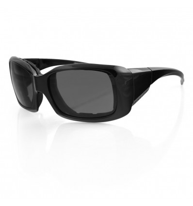 Bobster AVA Motorcycle Goggles/Sunglasses with Anti-Fog Smoked Lenses