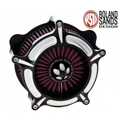 Air Cleaner, Turbine, Contrast Cut for Harley Davidson models