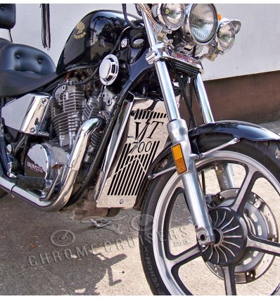 Honda VT700 Chrome Radiator Cover