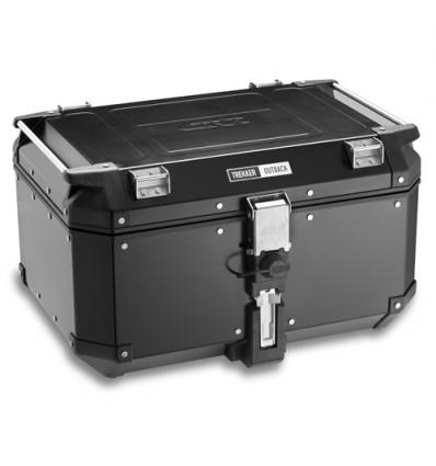 Givi Trekker Outback Aluminium Top Case - Black, 58 ltr