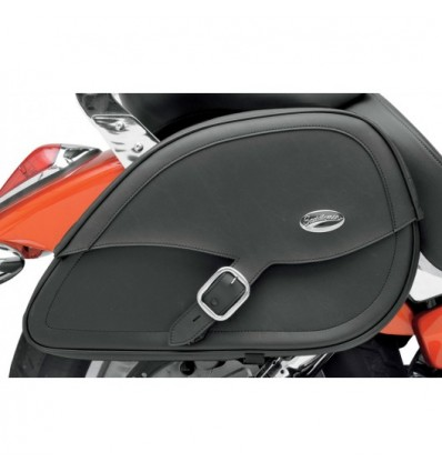 Suzuki models - Saddlemen Rigid-Mount Specific-Fit Teardrop Saddlebags - Drifter