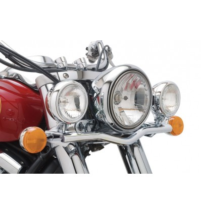 Kawasaki VN900 Vulcan Custom Cobra Lightbar with Spotlights