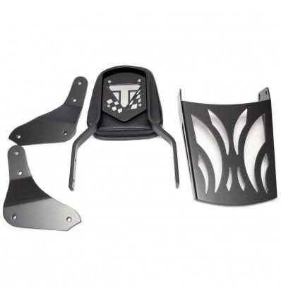 Triumph Thunderbird 1600 / 1700 Storm Black Sissy bar / Passneger backrest with rack