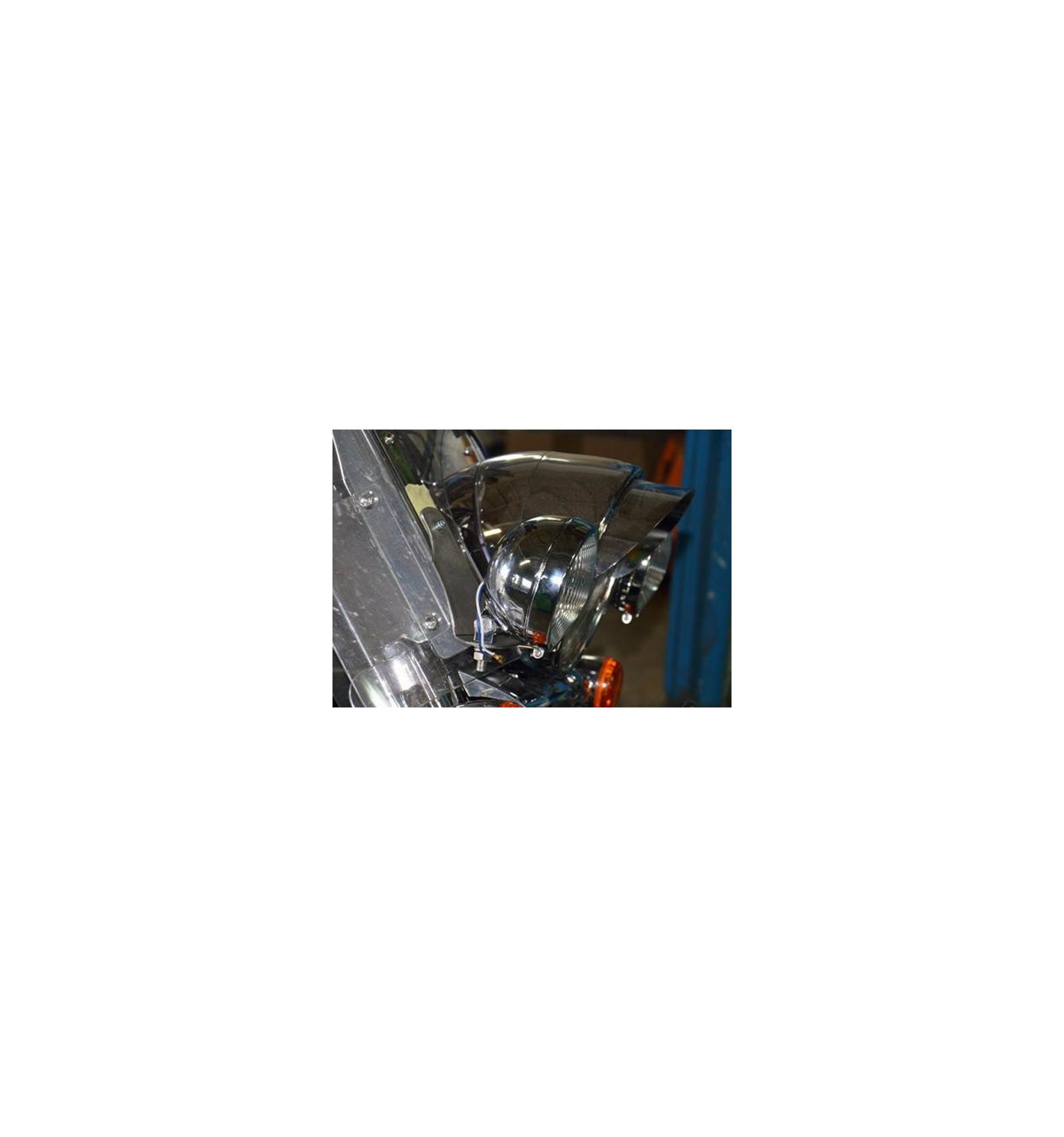 Suzuki C1800 Intruder Chrome Light Bar Bracket Pair Cruisers Kuryakyn 2202 Universal Driving Wiring Relay Kit