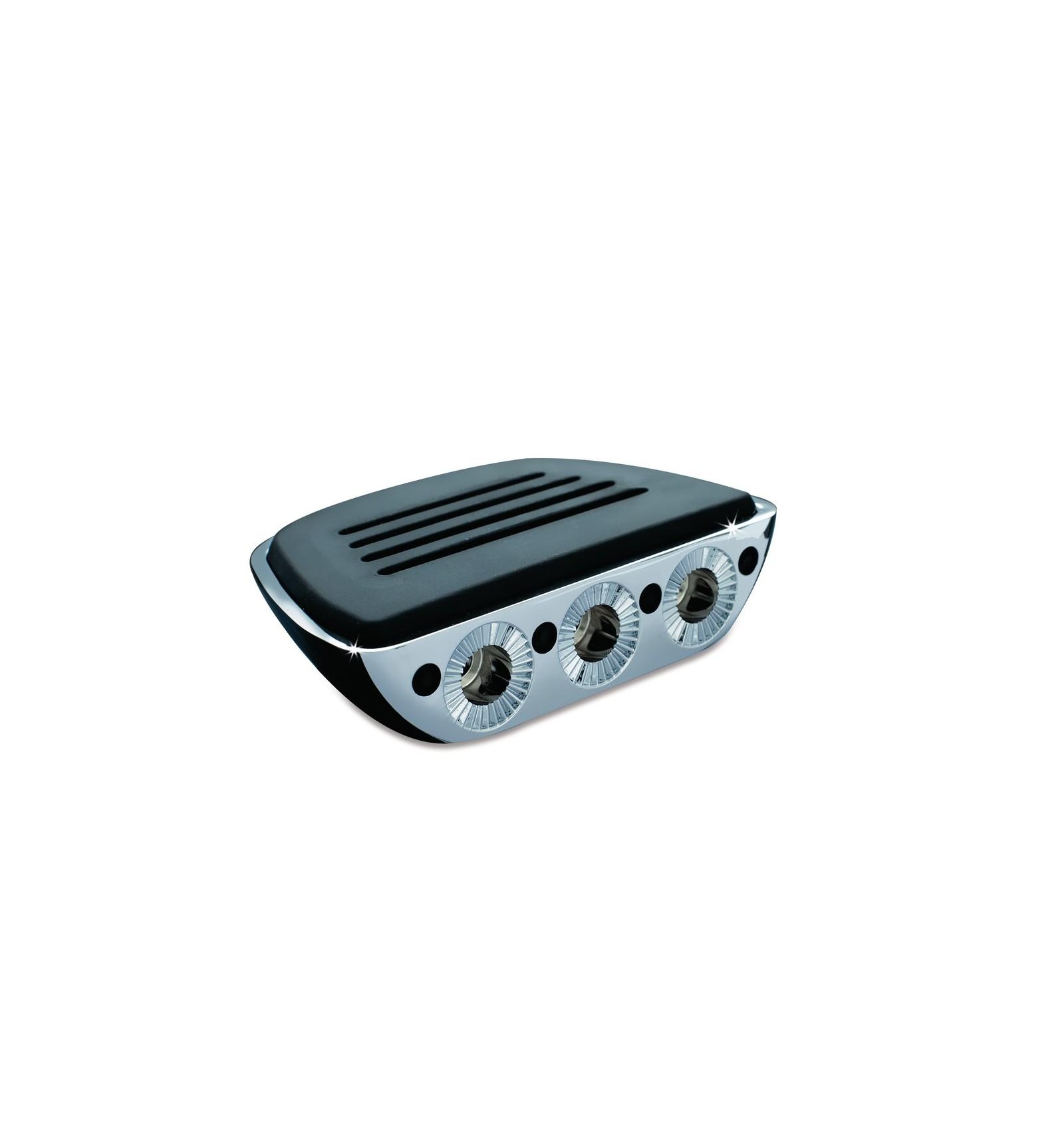 Kuryakyn Front Premium Mini Floor Board /& Adapter KIT Kawasaki Vulcan 800