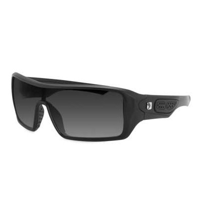 Bobster Paragon Matte Black Sunglass with Anti-fog Smoked Lens