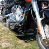 Yamaha XVZ1300 Royal Star Engine Crash Bar Guard with built in Highway Pegs